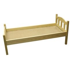 Кровать детская реечная спинка 600-1200