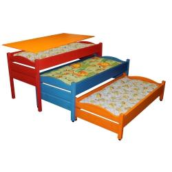 Кровать 3-х секционная выкатная с крышкой