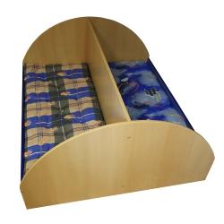 Кровать детская двухрядная 1200-1400