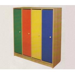 Шкаф детский 5-секционный на цоколе