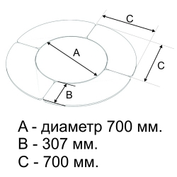 Стол модульный регулируемый
