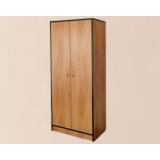Шкаф для одежды двухстворчатый комбинированный