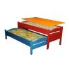Кровать 2-х секционная выкатная с крышкой 670-1500