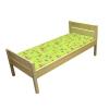 Кровать детская прямая спинка 600-1200/1400