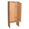 Шкаф для раздевалки двухсекционный