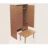 Банкетка детская к 1-секционному шкафу с нишей из ЛДСП