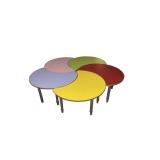 """Детский стол """"Луна"""" цветной (1 секция)"""