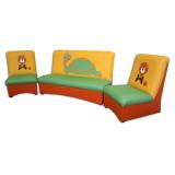 Комплект мягкой мебели «Мечта» - Черепашка