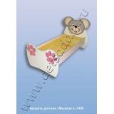 Кровать детская Мышка L-1400 (ЛДСП)